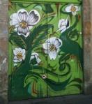 Flores en una selva urbana