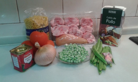ingredientes fideua